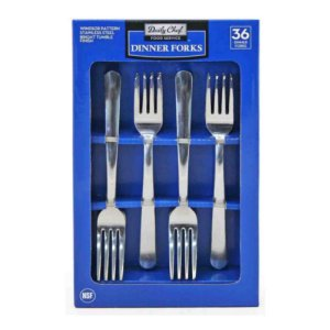 Member's Mark Stainless Steel Dinner Forks Set 36 Ct
