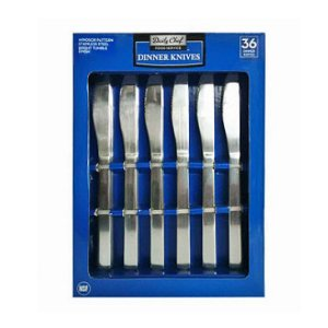 Member's Mark Stainless Steel Dinner Knives Set 36 Ct