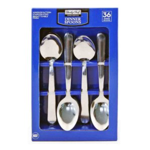 Member's Mark Stainless Steel Dinner Spoons Set 36 Ct