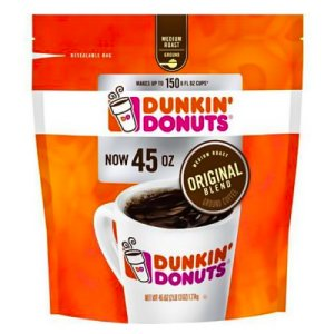 Dunkin Donuts Original Blend Coffee 45 OZ Ground